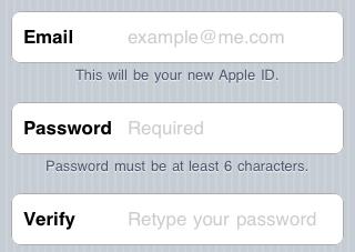 как добавить учетную запись почты в ios