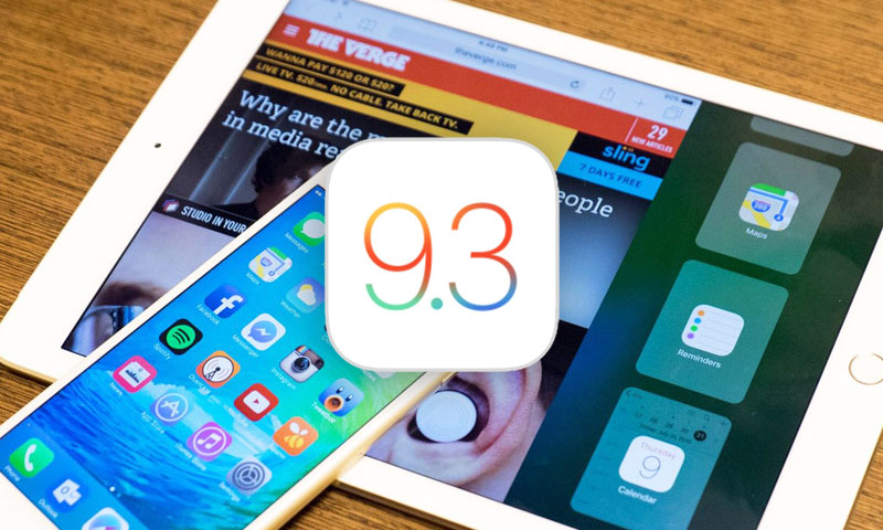 Как правильно установить обновление iOS 9.3