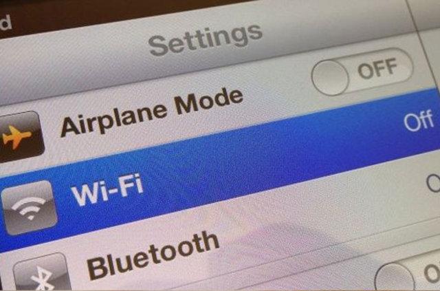 Обновление iOS через Wi-Fi