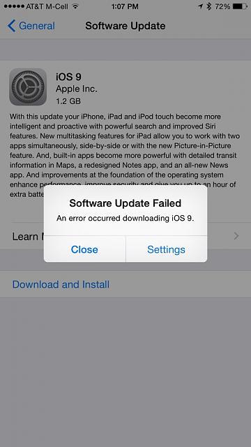 Как установить iOS 9?